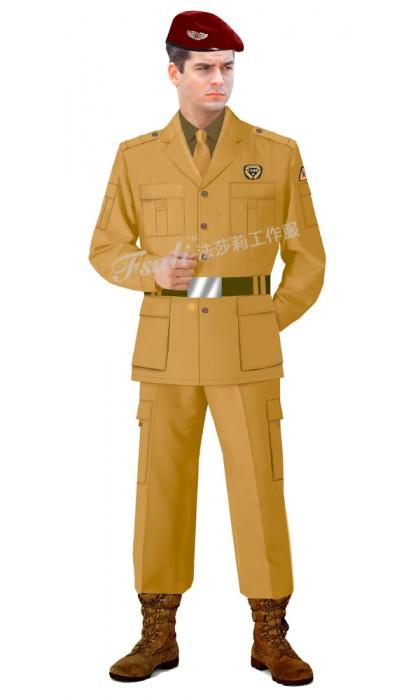 保安工作服图片
