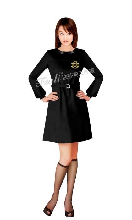 时尚西餐厅服务员服装