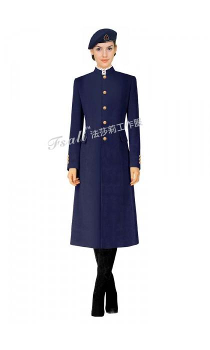 物业保安制服大衣