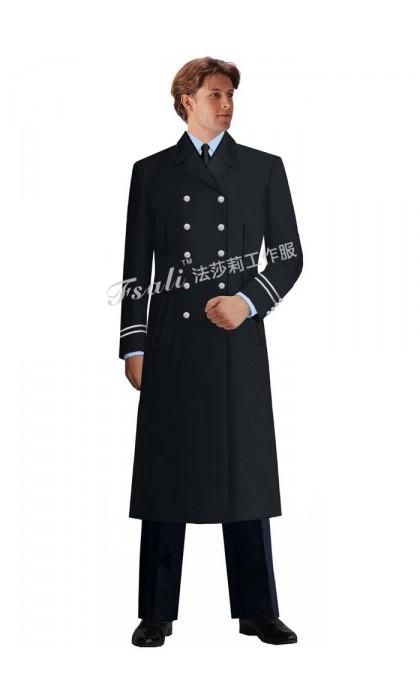 保安女制服大衣