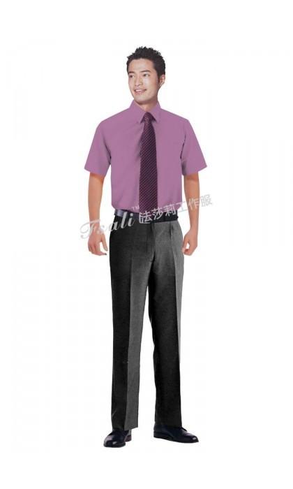 办公短袖衬衫