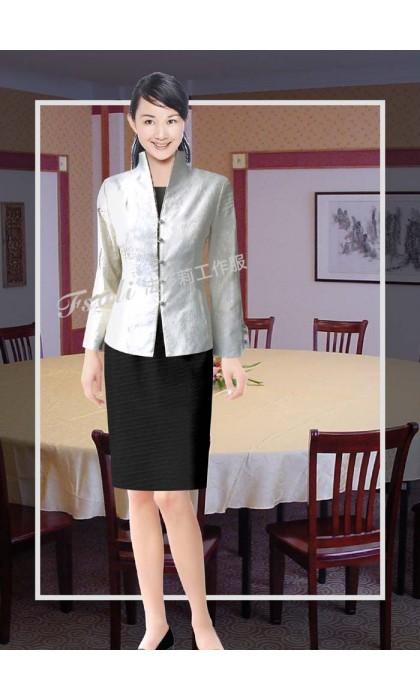 中餐厅酒店领班工作服