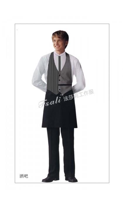 西餐传菜员制服图片