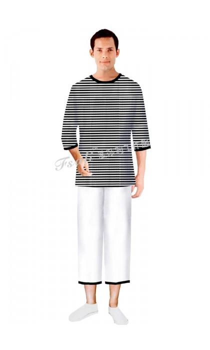 桑拿水区更衣工作服款式