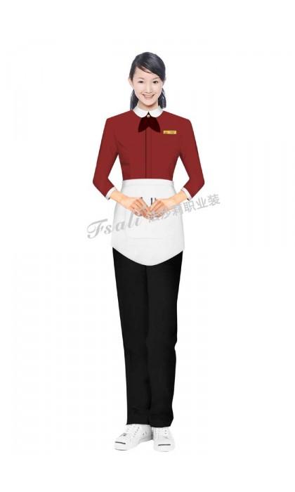 快餐厅女装制服定制