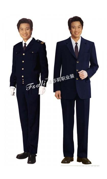 男士公交制服西服