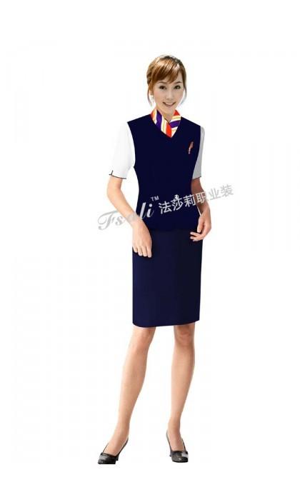 时尚航空短袖制服