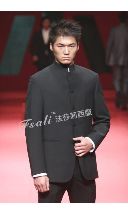 中华立领西装