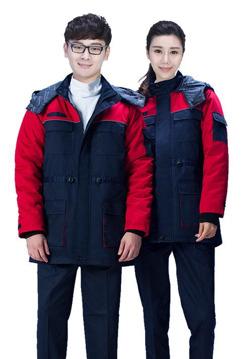 冬装工作服1