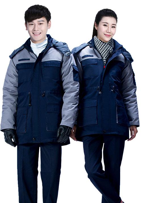 冬装工作服4