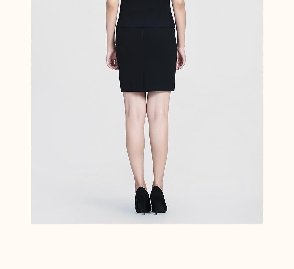黑色半袖女士套装FX05